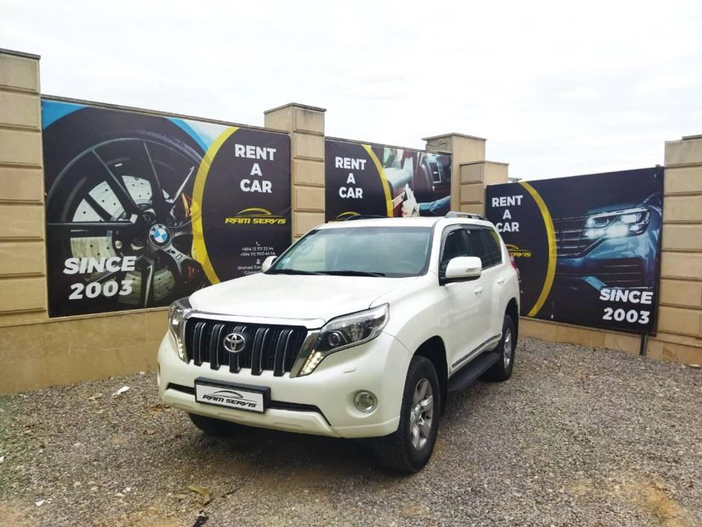 Rent Toyota Prado in Baku